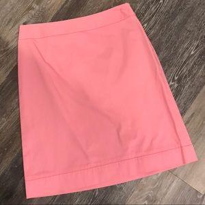 Brooks Brothers Pink Pencil Skirt